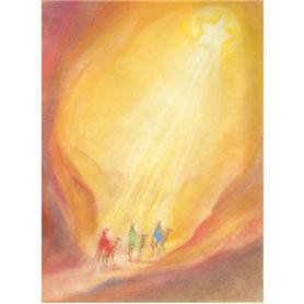 Kunstkarte Heilige drei Könige