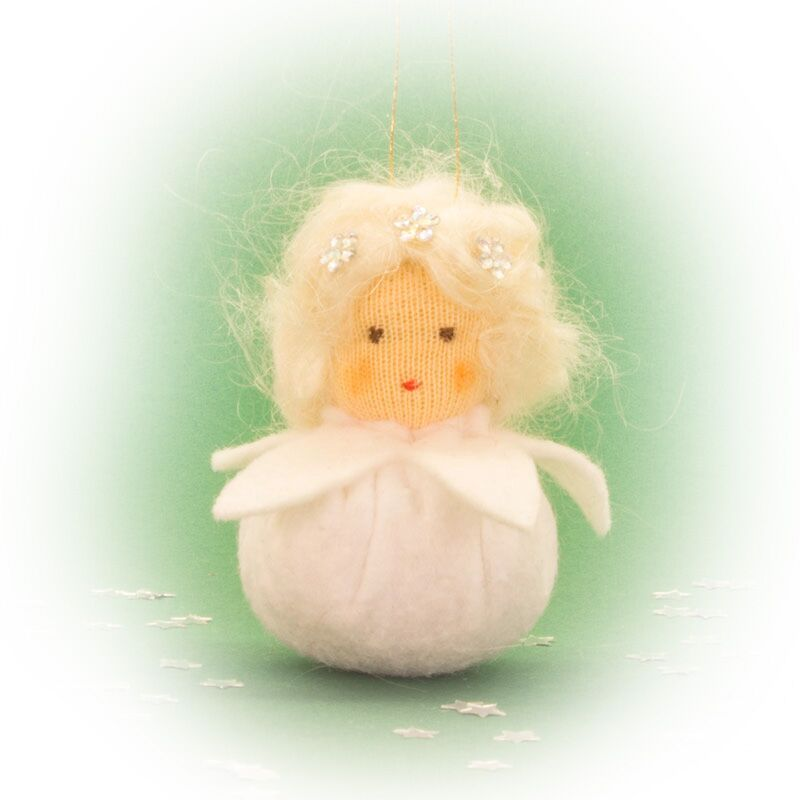Kleines Schneeflöckchen rk von Augenweide Bastelpackung