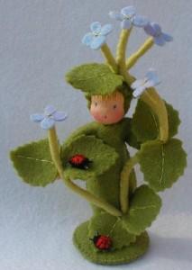 Blumenkind Ehrenpreis - Bastelpackung