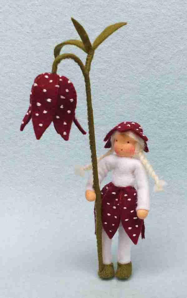 Blumenkind Schachbrettblume Bastelpackung