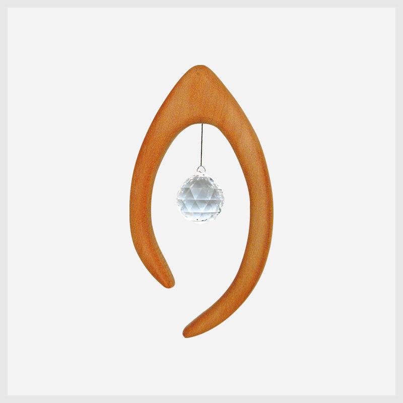 Feng Shui Fensterschmuck Iris mit Kristall