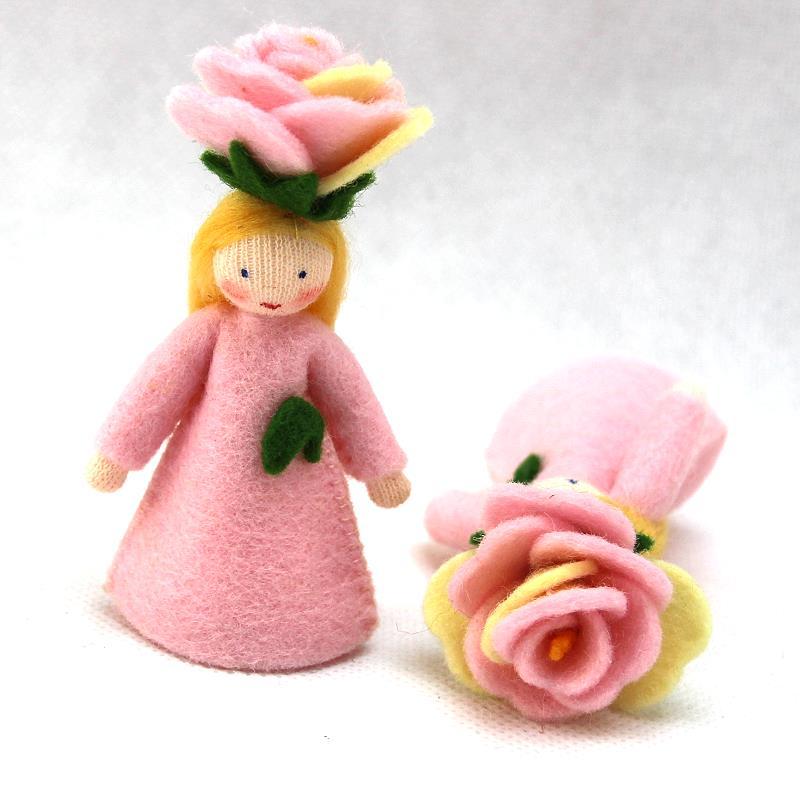 Blumenkind Rose in rose