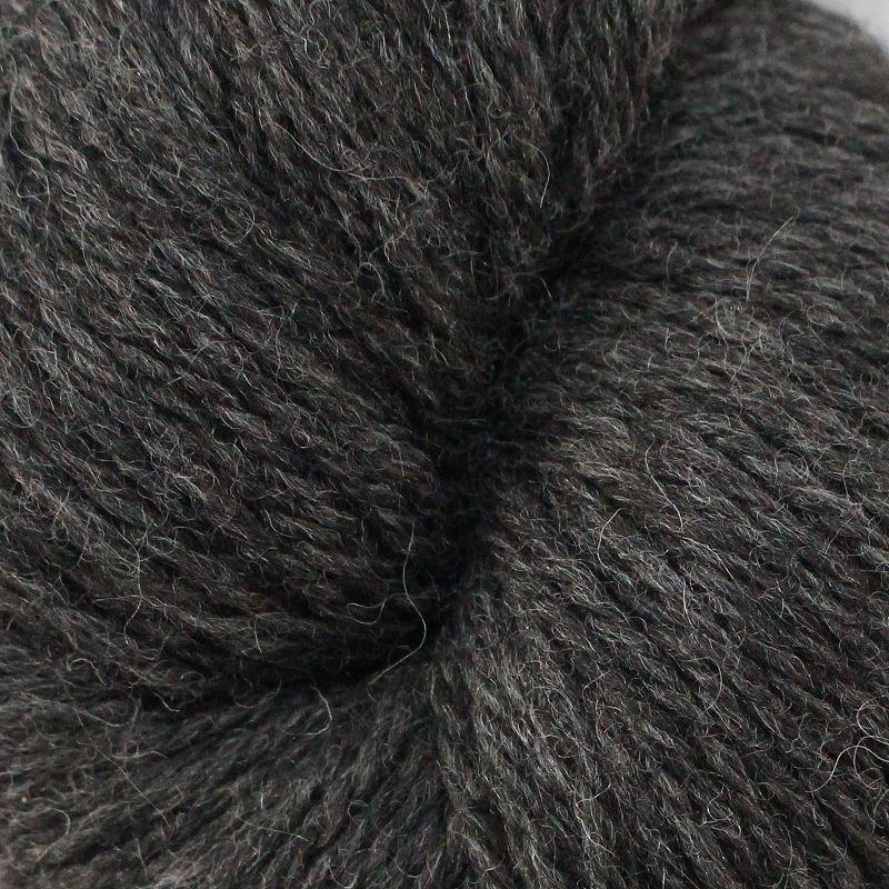 Strickwolle - Naturgarn gezwirnt anthrazit
