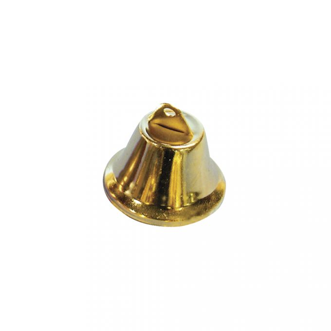 Metallglöckchen 38 mm in gold