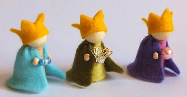Die heiligen drei Könige Bastelpackung Atelier Pippilotta