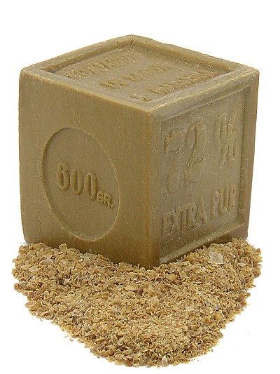 Olivenölseife 600 g Block