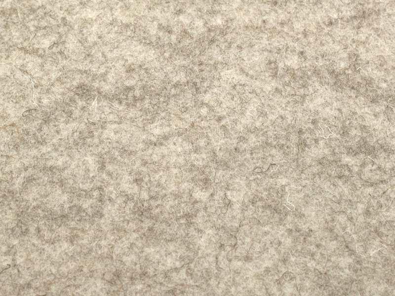 100% reiner Wollfilz naturbeige Meterware 182cm breit