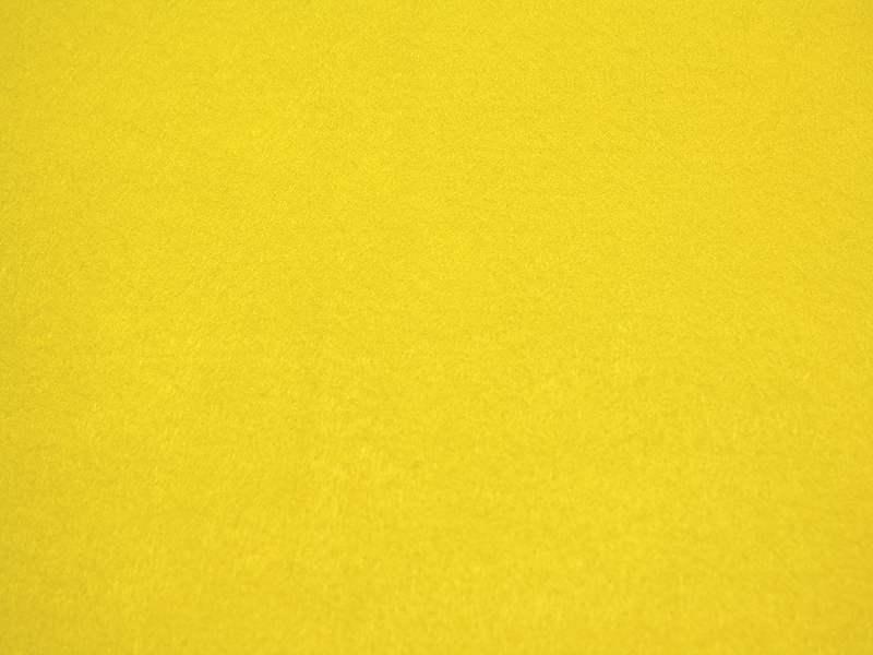 Filz / Bastelfilz Zitronengelb