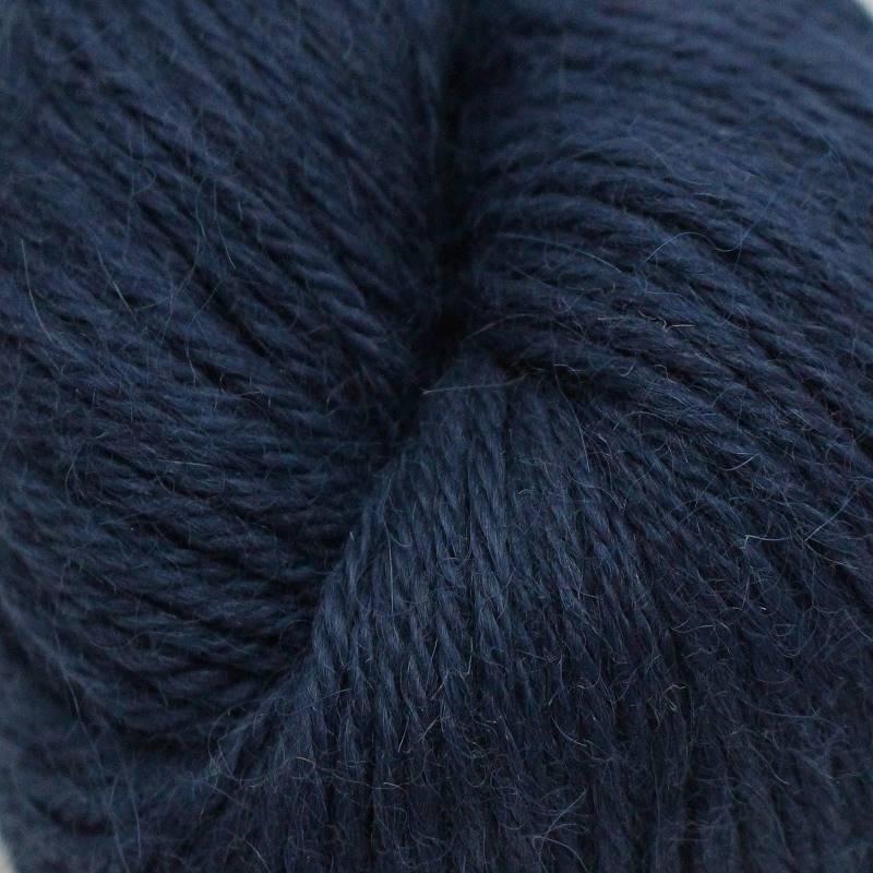 Strickgarn Alpaka Fino Nachtblau