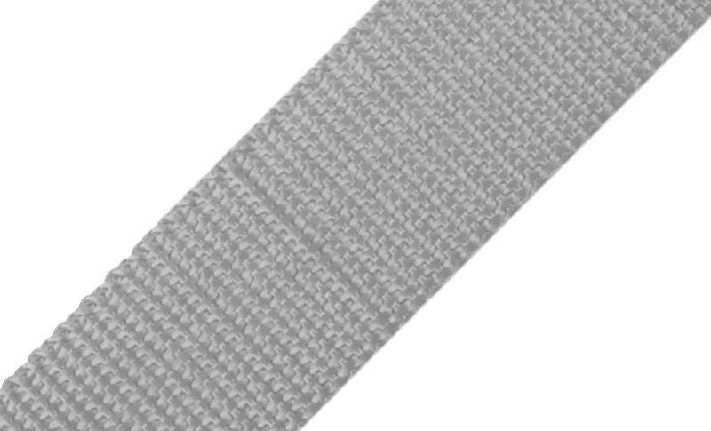 Gurtband grau 3 cm