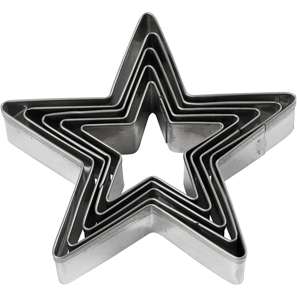 Ausstechform Sterne - Trockenfilzen