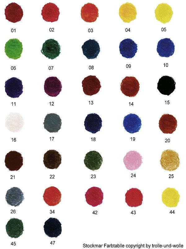 Stockmar Wachsmalblöcke Einzelfarben