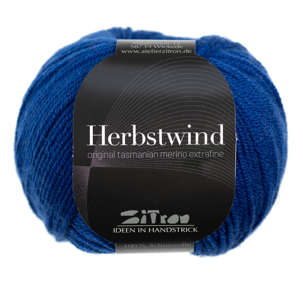 Herbstwind Merinowolle 08 ultramarine
