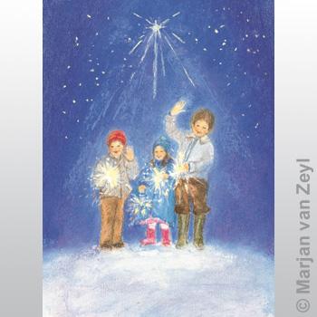 Kunstkarte Frohes Neues Jahr