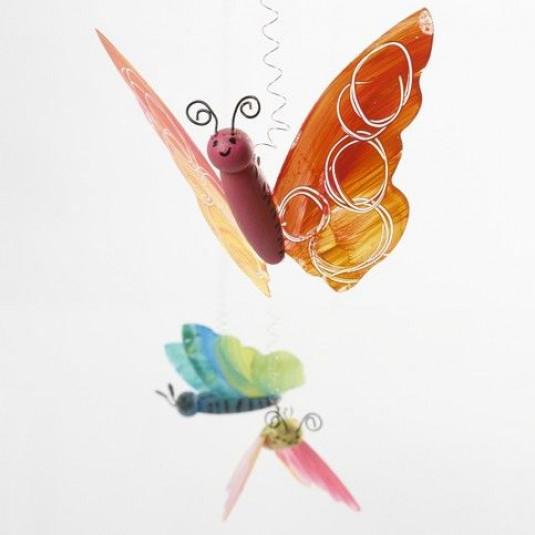 Schmetterlingskörper zum Basteln 5 Stück