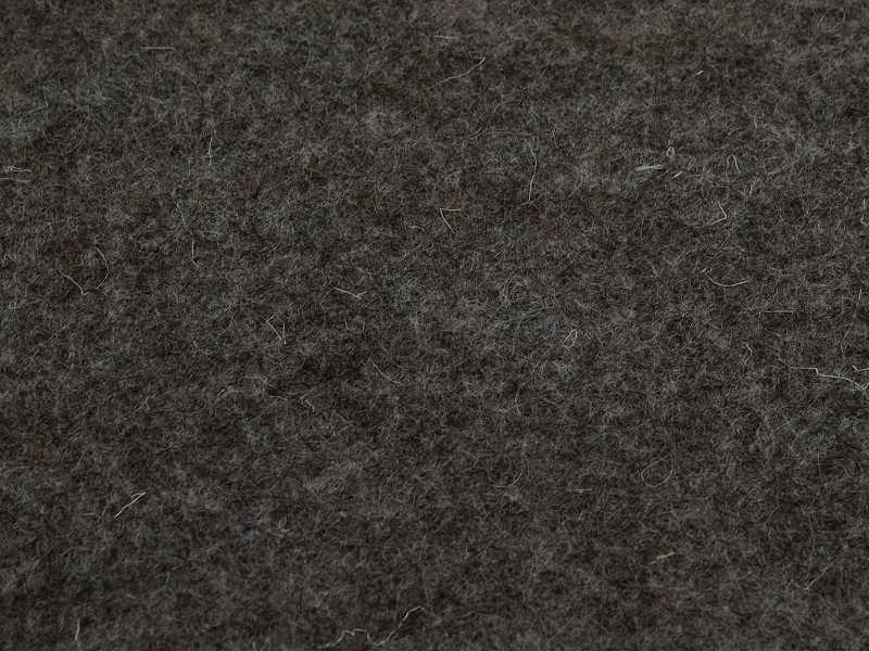 100% reiner Wollfilz 1 mm Anthrazit