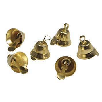 Metallglöckchen 16 mm in gold