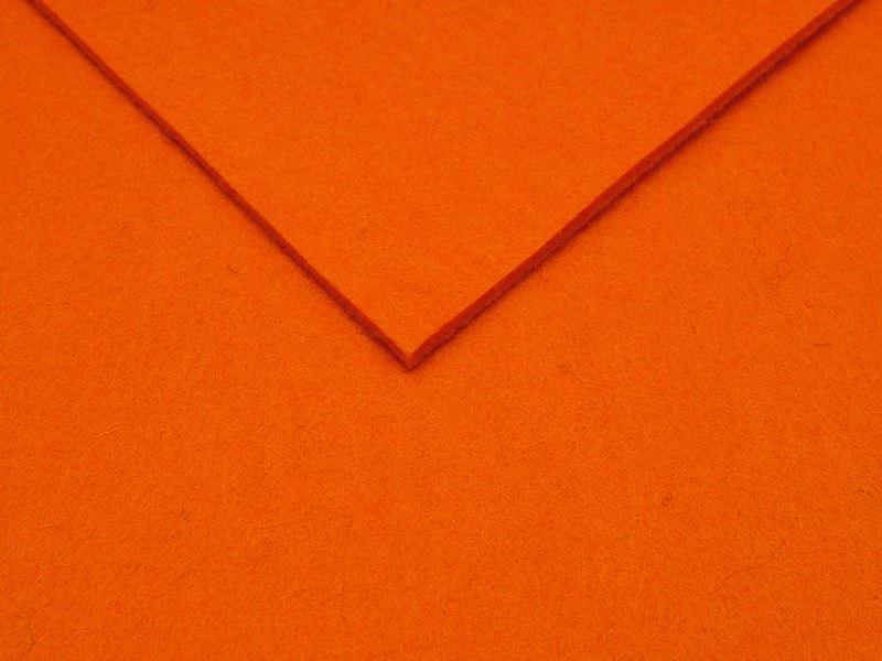 Design Wollfilz 3mm Orange
