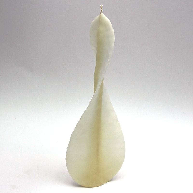 Engels- Kerze aus Bienenwachs weiß