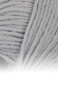 Echt Baumwollgarn 02 silber