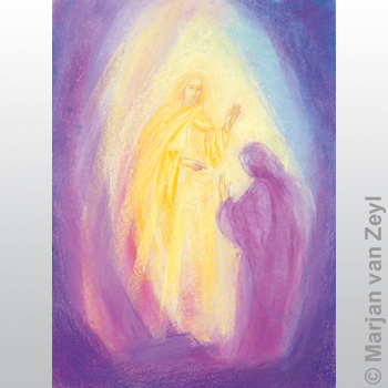 Postkarte Ostern / Auferstehung