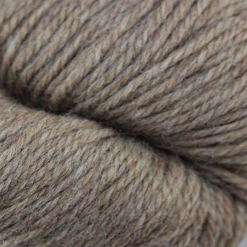 Strickwolle - Naturgarn gezwirnt hellbraun