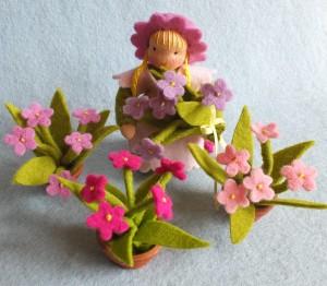 Blumenkind Gärtnerin Bastelpackung