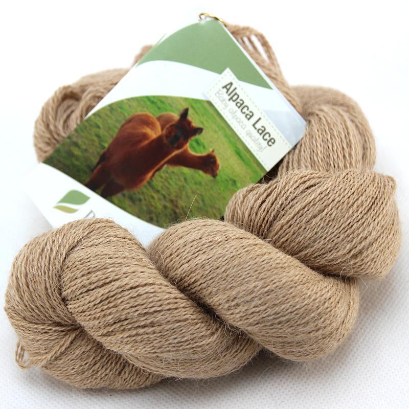 Alpaka Lacegarn Beige Nr. 03 50 g (Babyalpaka)