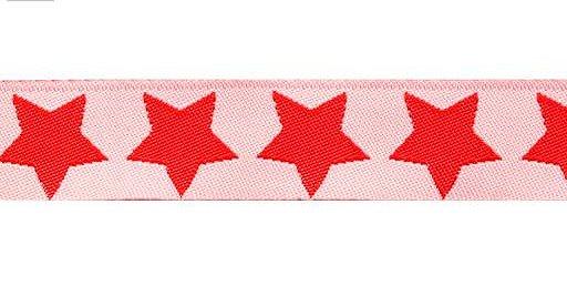 Webbänder Sterne in rot