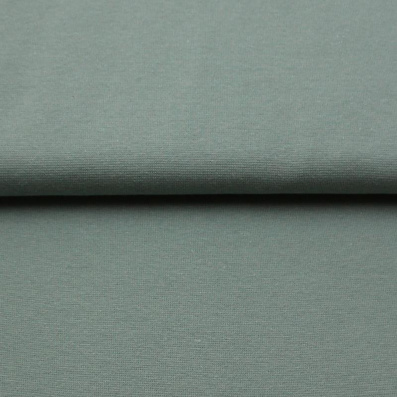 Bündchenstoff grau 70-75 cm