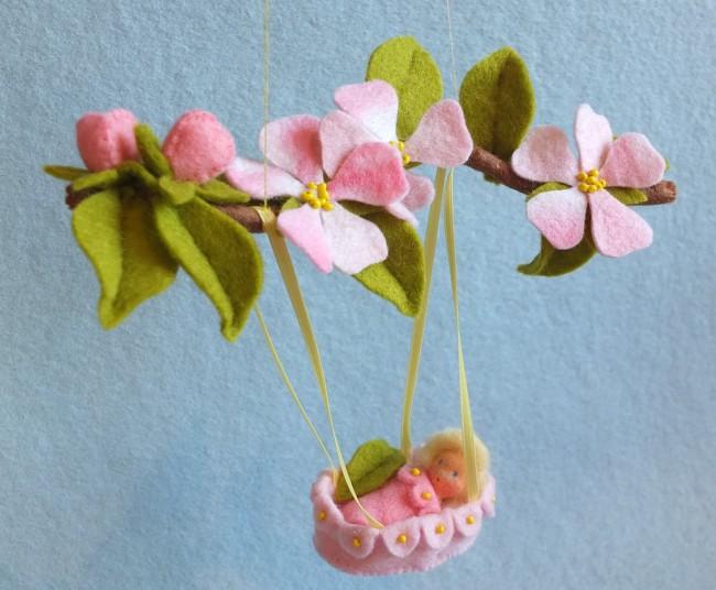 Bastelpackung Apfelblüte Atelier Pippilotta