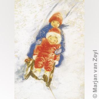 Schlitten fahren von Marjan van Zeyl