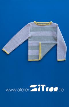 Kostenlose Strickanleitung bei Garnkauf Kinderpullover aus ECHT