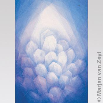Postkarte Bergkristall