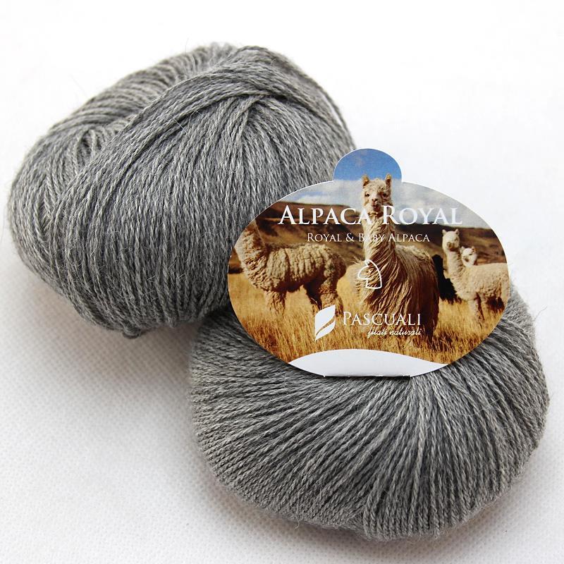 Alpaca Royal grau Pascuali