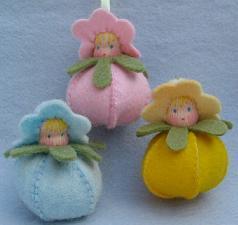 Drei Frühlingskinder Bastelpackung Atelier Pippilotta