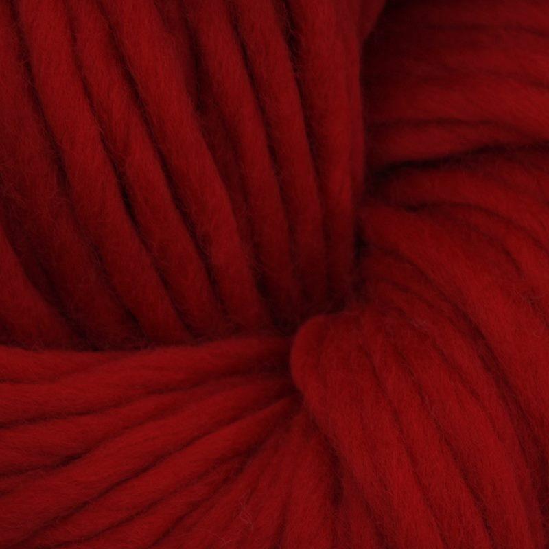 Oslo Schnellstrickgarn Rot 200 g