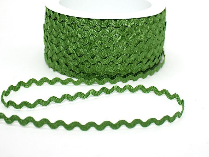 Zackenlitze 6 mm grasgrün