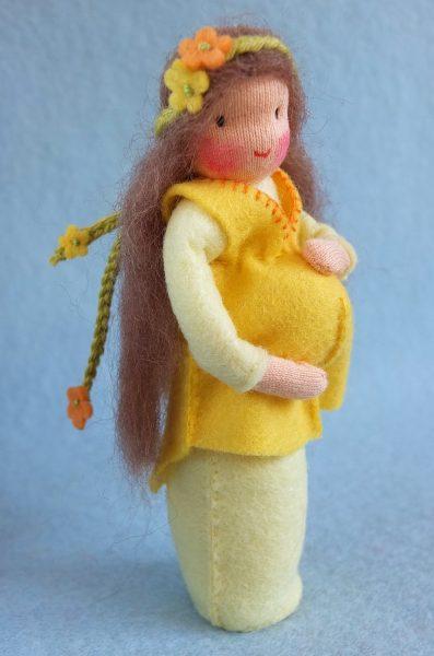 Bastelpackung Neues Leben - Schwangere Frau Atelier Pippilotta