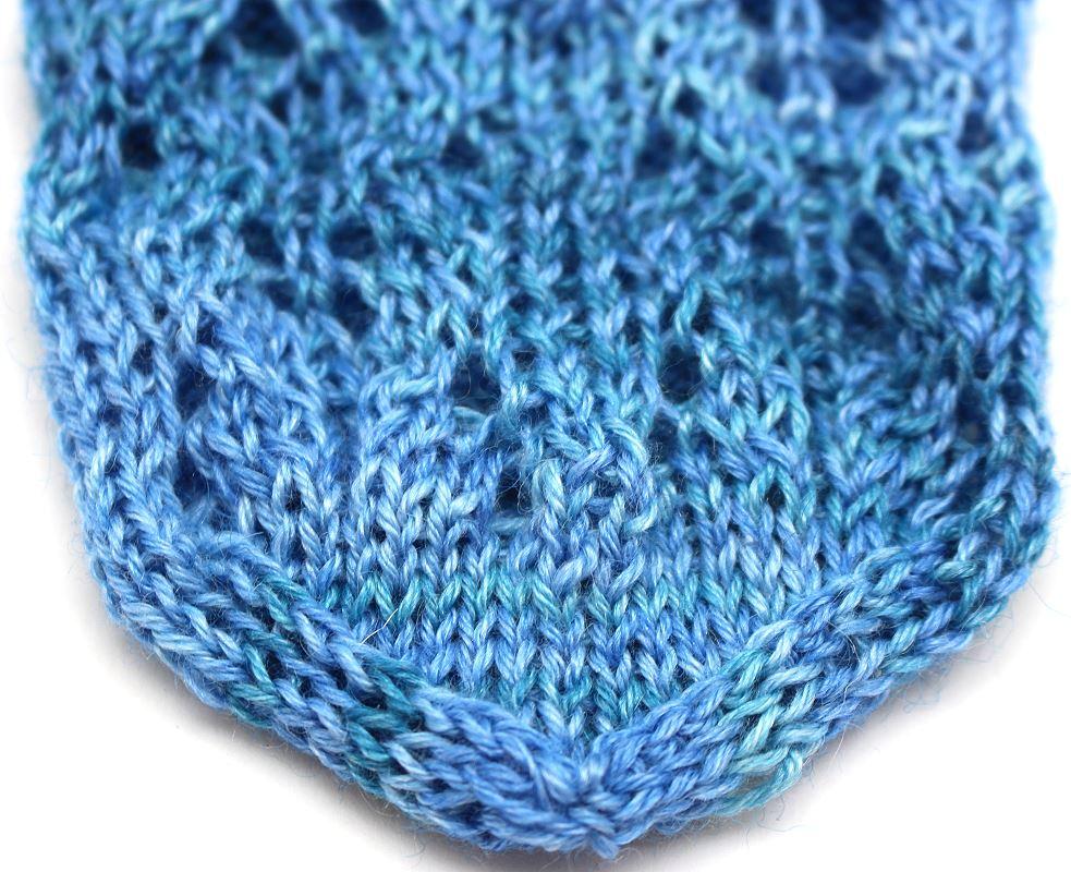 Turin Sockenwolle Jeansblau