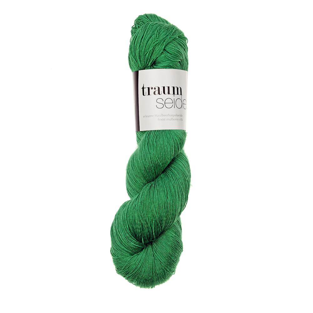 Traumseide Lacegarn Grasgrün 038