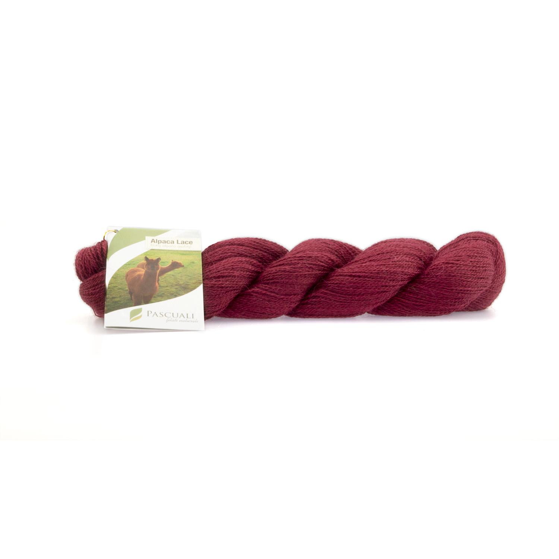 Alpaka Lacegarn Kirschrot Nr. 21 50 g (Babyalpaka)